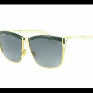 Dior sunglasses Green Gold 26HHD Authentic 58mm